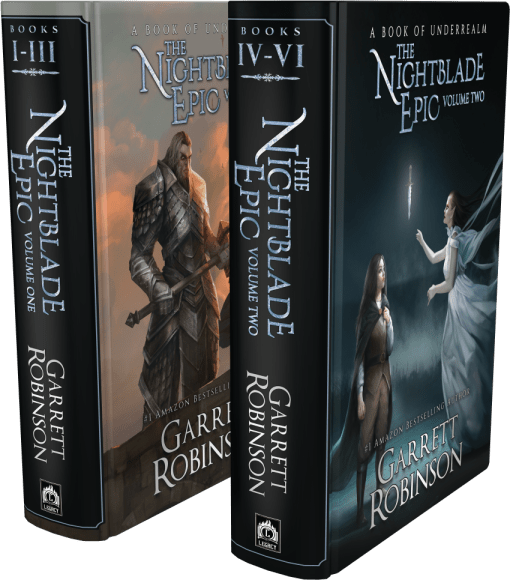 The Nightblade Epic Volumes One and Two, by #1 Amazon Bestseller Garrett Robinson