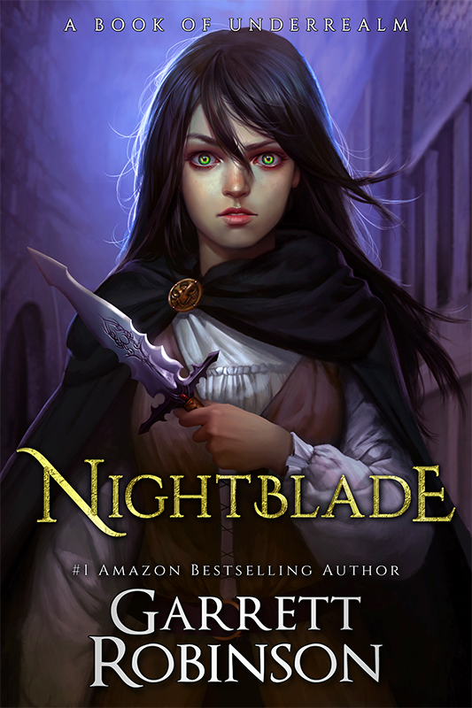 Nightblade, the #1 Amazon Bestseller by Garrett Robinson
