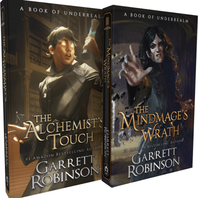 The Alchemist's Touch and The Mindmage's Wrath — Paperback