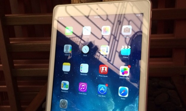 iPad Air – Returning Back to Apple