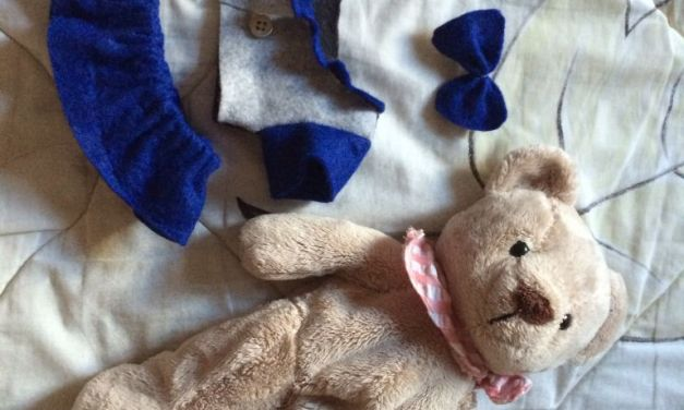 Hand-sewed Clothes for Bear