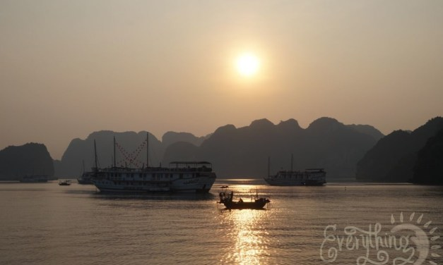 Bucket List: Halong Bay