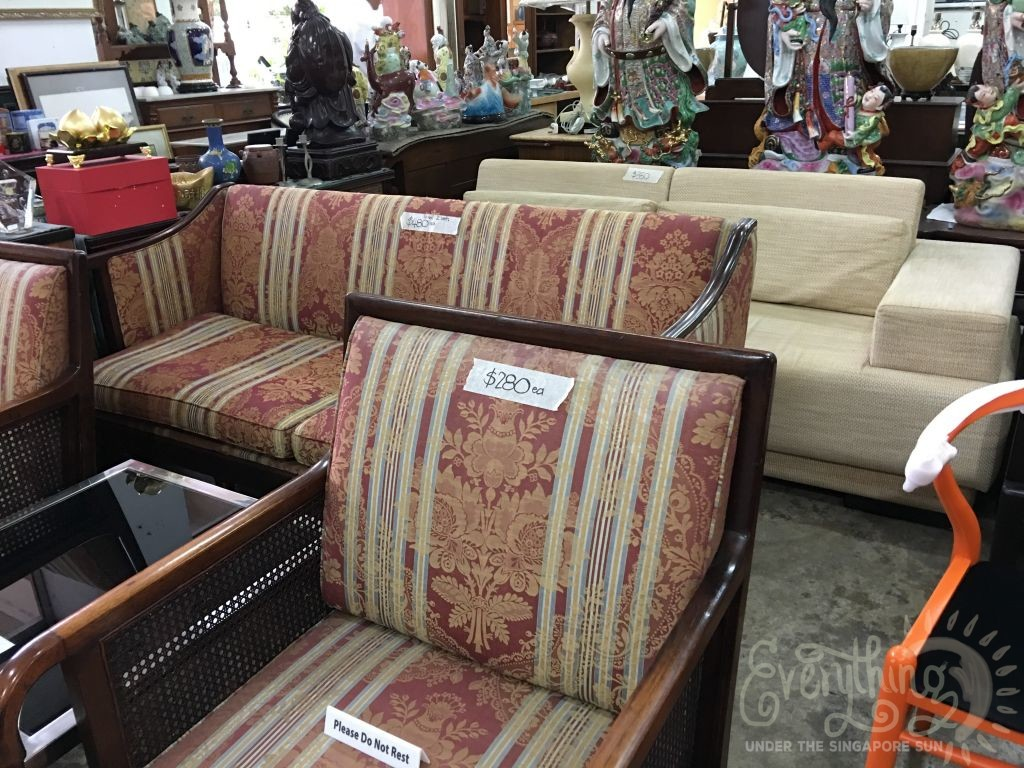 Second Hand Furniture Shopping For New BTO
