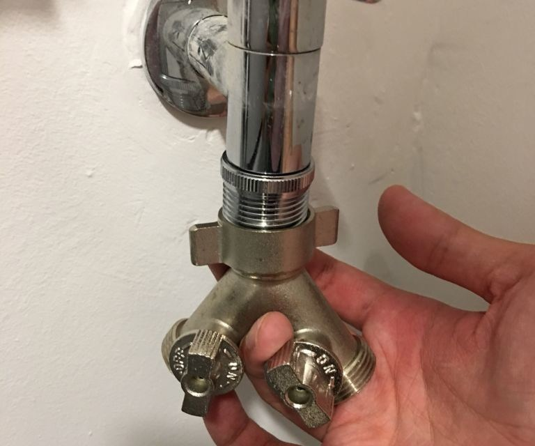 New BTO Service Yard Tap Fix