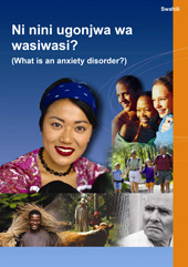 Translated Anxiety Disorders Factsheet - Swahili