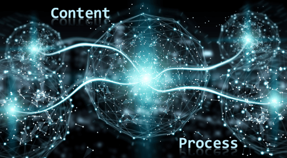 Interconnected Process and Content