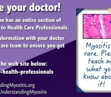 Help a physician learn about Myositis