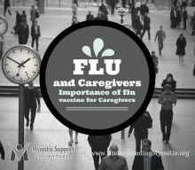 Importance of the flu vaccine for caregivers