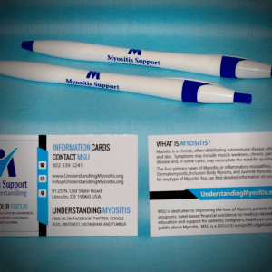 MSU Pen and Info card bundle