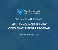 Press Release: Myositis Support and Understanding Association  announces its new Video Chat Support Program