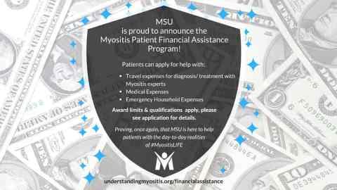 Press Release: Myositis Patient Financial Assistance Program
