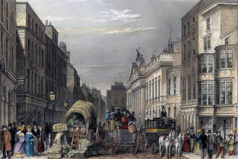 Leadenhall Street in Victorian England, a time of peace and prosperity where rats exploded in popularity as pets.