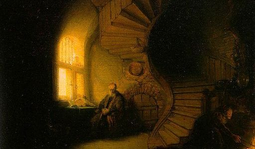 Philosopher in Meditation - Rembrandt