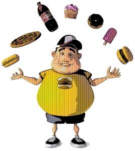 overweight diabetic