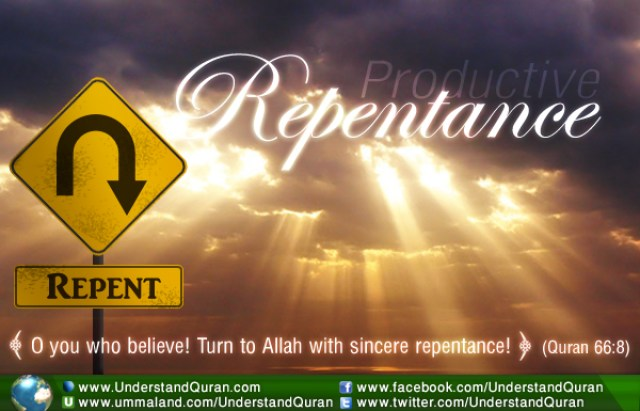 Productive Repentance!