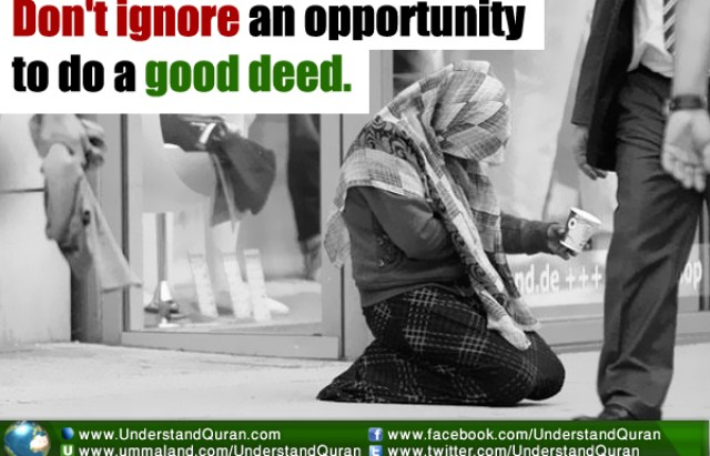 Dont ignore an opportunity