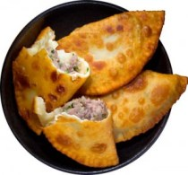 Chebureki - meat-filled pastry