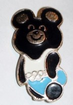 Olympic Misha pin