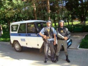 Police security in Moscow