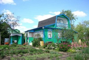 Dacha - typical landscape