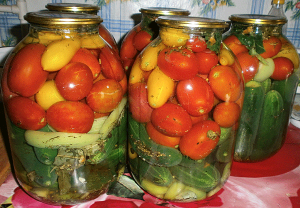 Preserves for winter