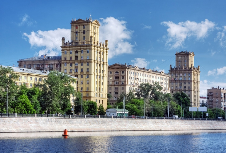 Stalin buildings