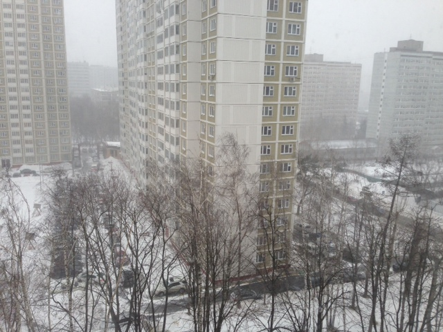 Typical view from a home of a Muscovite