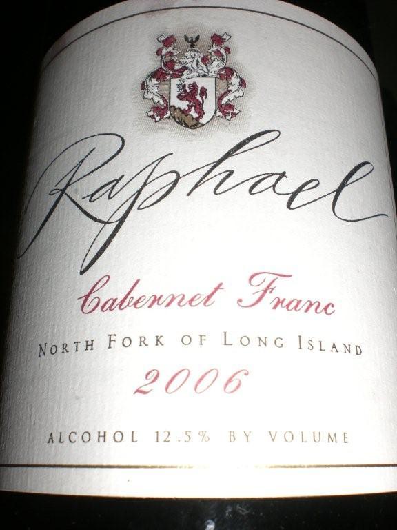 Raphael 2006 Cab Franc