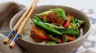 Korean Fish Stirfry