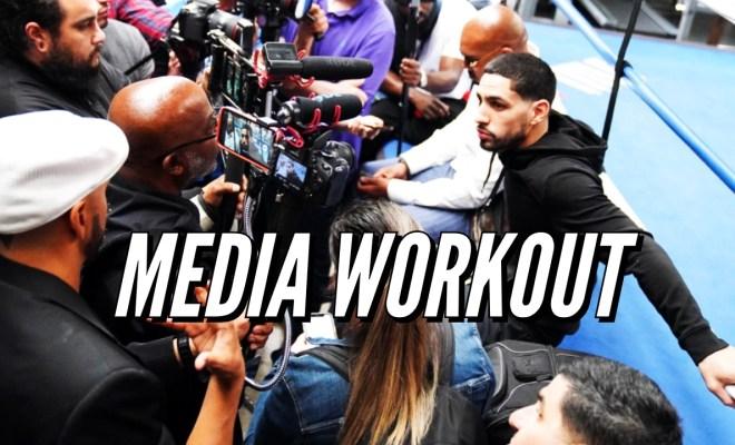 Danny Garcia Media Workout