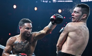 Regis Prograis Lands a Left Photo WBSS