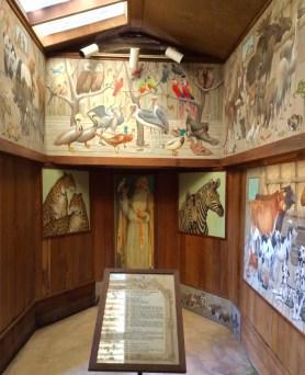 pebble-hill-plantation-noahs-ark-murals