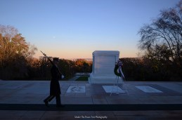 Tomb of the Unknown Soldier at the Arlington Cemetery in Viriginia
