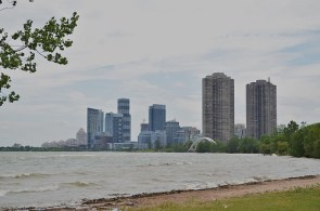 Condominiums at Humber Bay Shores in Toronto.