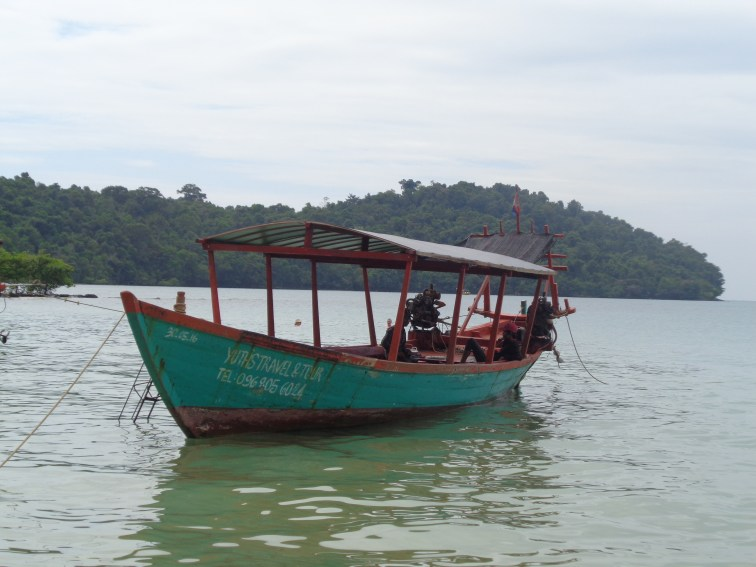 Our boat on the 3 island tour
