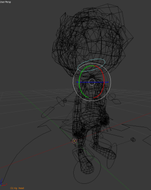 rigify_model_wireframe