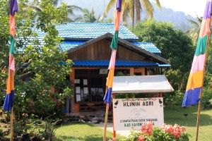 The Health in Harmony (ASRI) Clinic in Sukadana, Indonesia trades healthcare for reforestation.