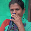 Indian farmers' widow