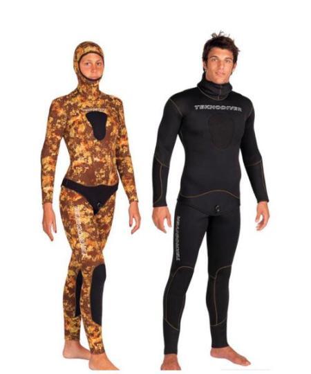 Teknodiver Dune - Våddragt til undervandsjagt