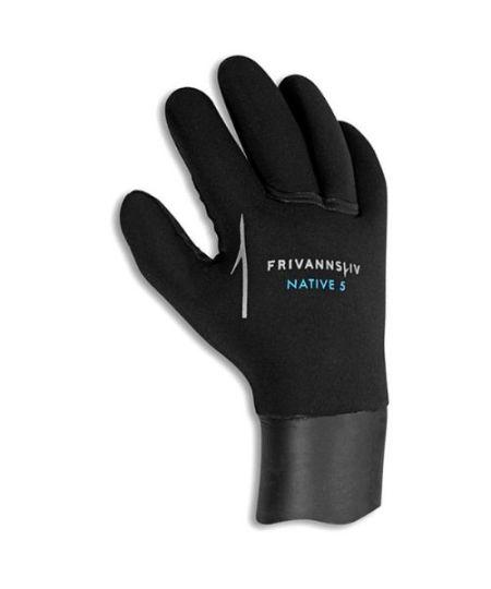 Frivannsliv Native 5mm handsker - Frivannsliv Native 5mm dykkerhandsker