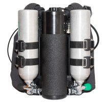 Better Rebreather Cylinder Strap Solution