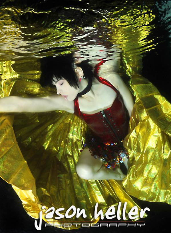 Modern Underwater Angel