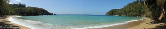 Tobago beach scene