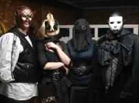 Players at the Masquerade Ball