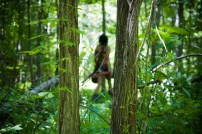 A wild elf stalks the woods, photo by Pat and Sierra