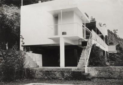 Eileen Gray, Jean Badovici. Casa E1027, Roquebrune-Cap-Martin, Francia.