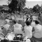 Jakoba Mulder, Piscina Bellamyplein, Ámsterdam, 18 juli 1967