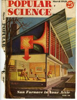Eleanor Raymond, Dover Sun House en Popular Science