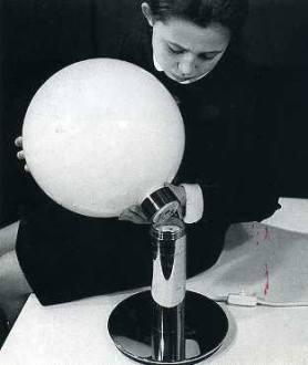 Franca Helg. Lámpara para SIRRAH 1969-1973