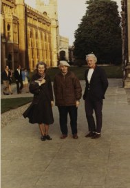 Sadie Speight, Ben Nicholson and Leslie Martin, Cambridge 1971